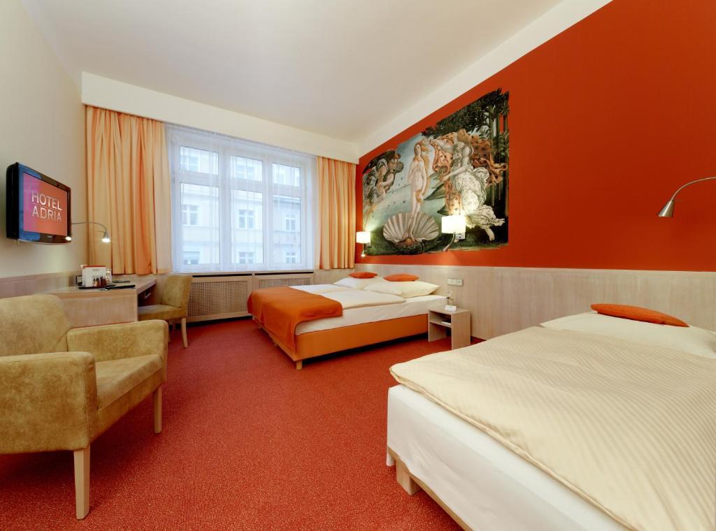 hotel adria m nchen munich online booking viamichelin. Black Bedroom Furniture Sets. Home Design Ideas