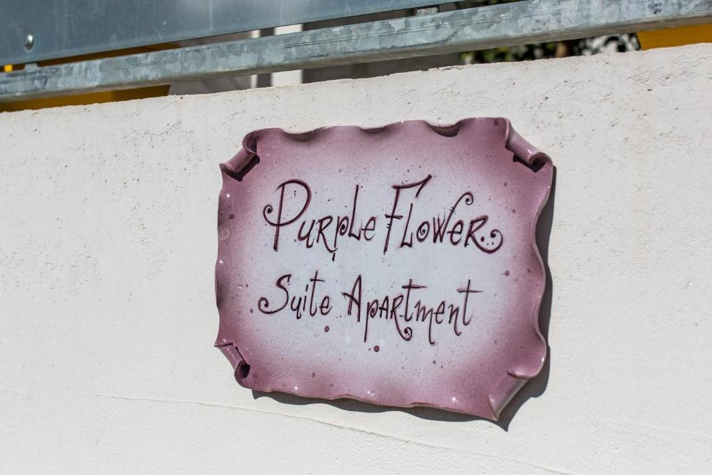 Purple Flower Suit Apartment img37