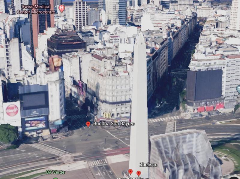 Centro 2 ambientes frente al obelisco