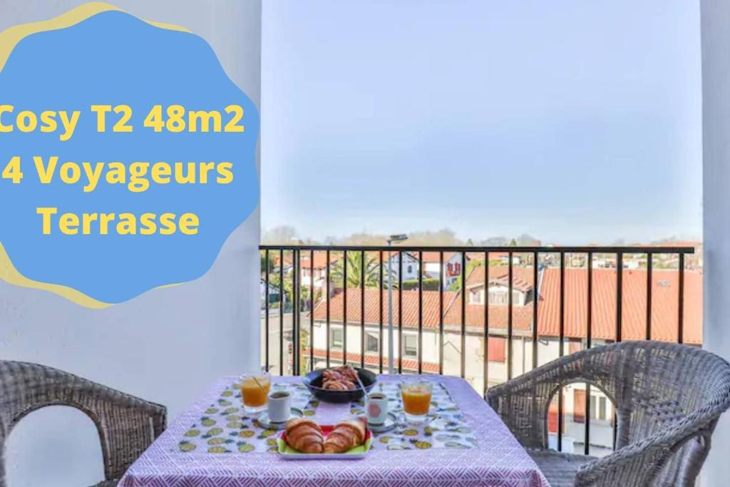 T2 Terrasse Bayonne TranquilyClé