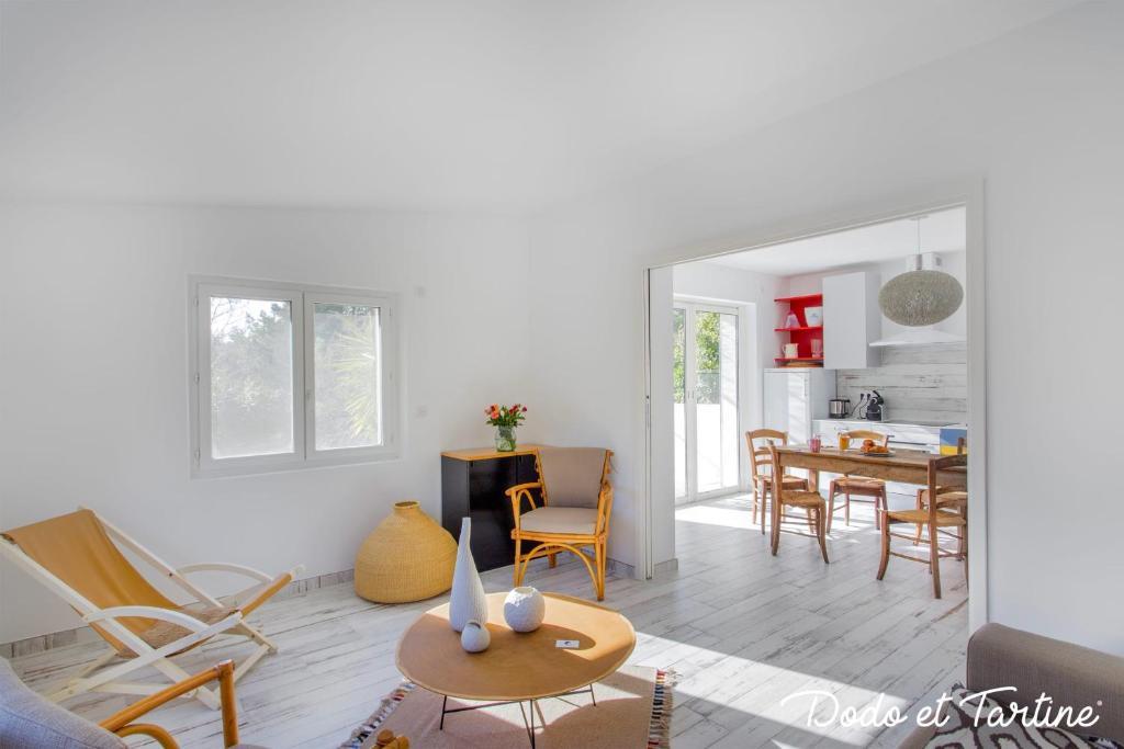 Peaceful 1 bedroom house with garden - Dodo et Tartine
