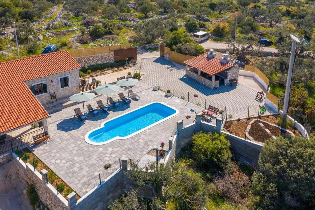 Family friendly house with a swimming pool Stupin Celine, Rogoznica - 18194
