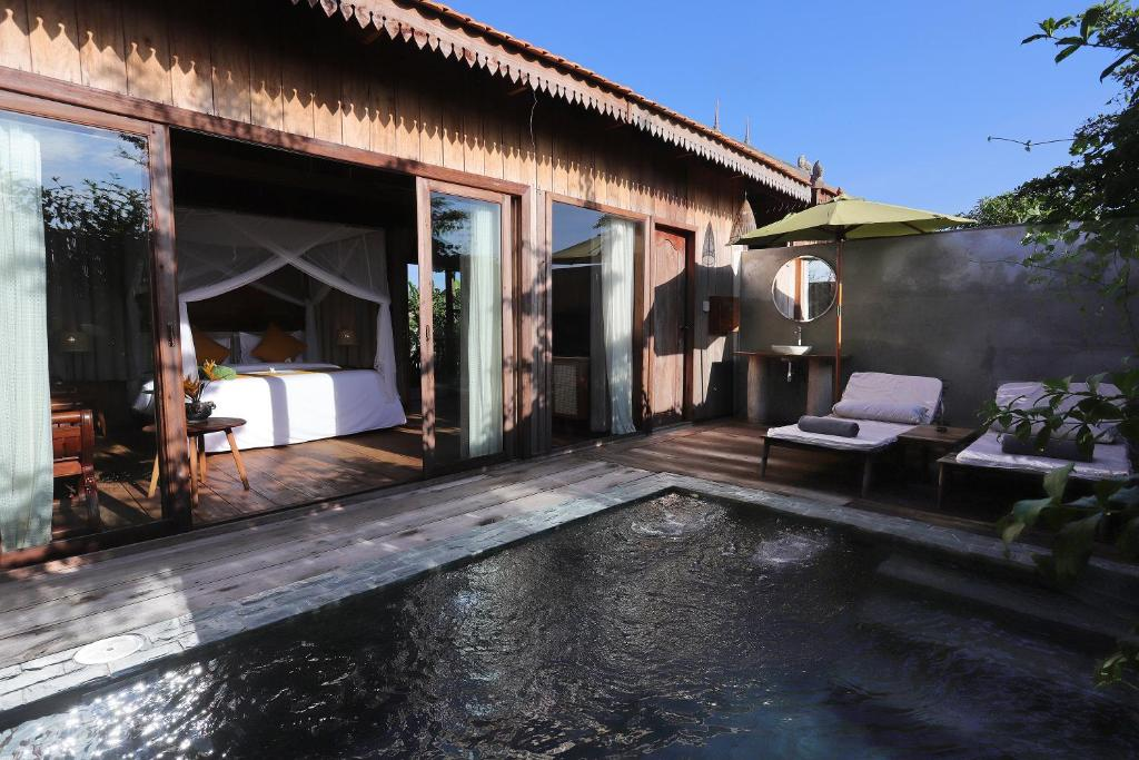 Dontrei Private Pool Bungalow-Free pickup