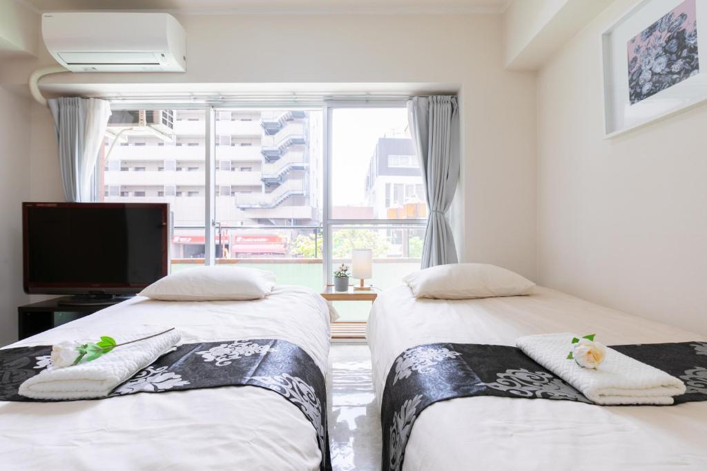 Hotel KKD Ikebukuro 池袋駅C1 空気清浄殺菌加湿器で空間除菌中