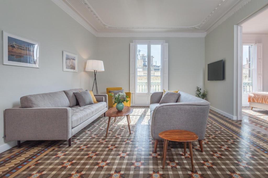 6 dormitorios en Apartamento Modernista en el Corazon de Barcelona