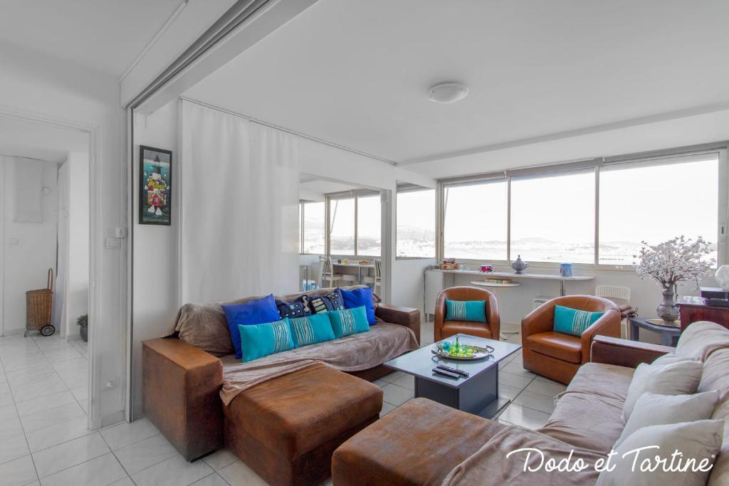 Sunny 2 bedroom with panoramic view - Dodo et Tartine