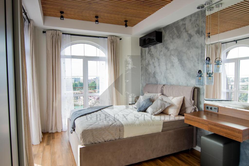 Элитная квартира с видом на море и горы
