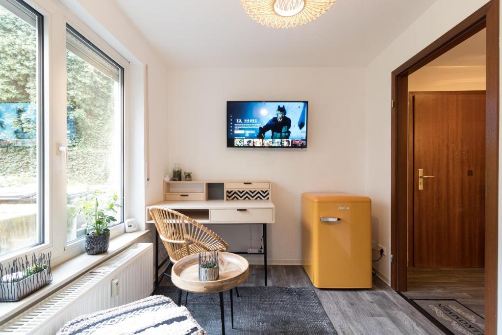 Perfektes HomeOffice mit WLAN gratis & Küche nähe Klinikum Mannheim