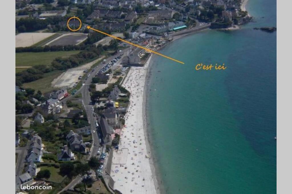 Appartement jardin a 100m de la plage et Thalasso