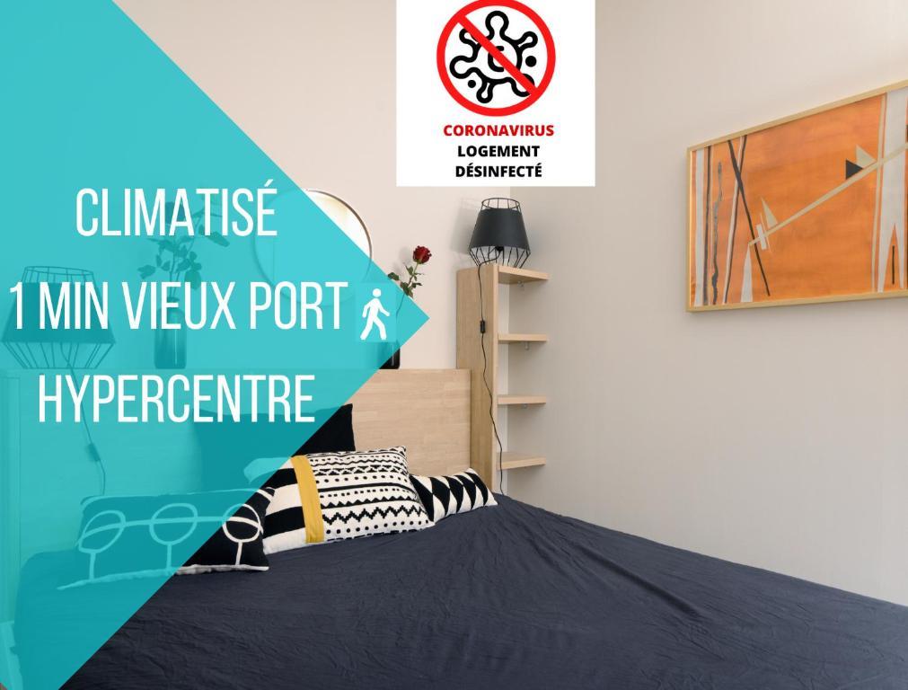UniqueAppart T4- Hypercentre -Climatisé-3 chambres