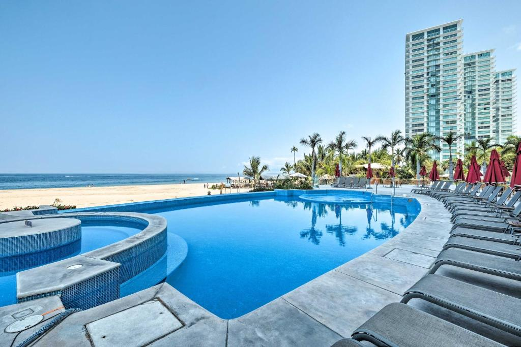 Oceanfront Resort Condo with Stunning Beach Views!