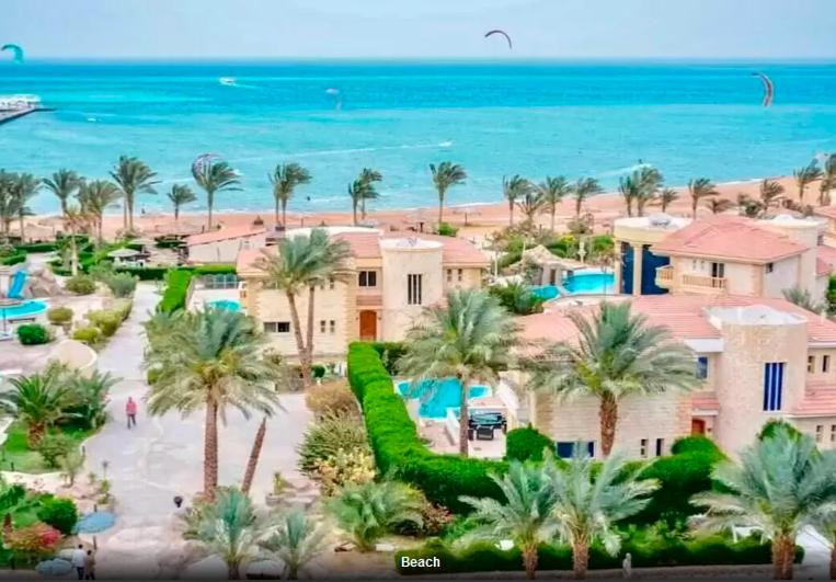 Luxury Palma Resort apartments infront of the sea