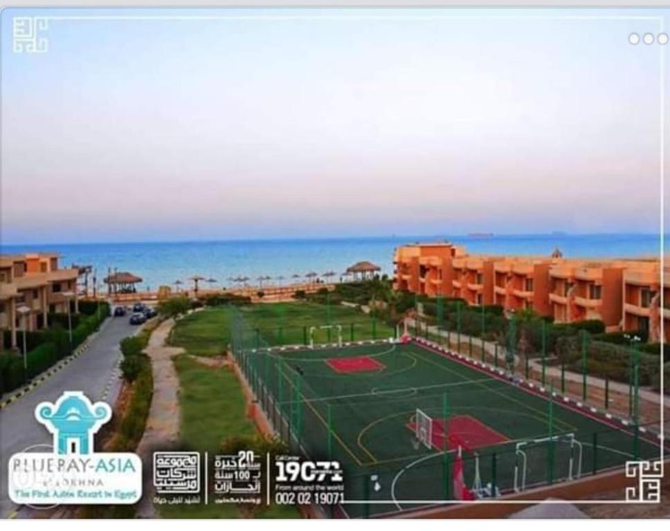 Bluebay Asia ElSokhna App Double View Sea and Pool شالية بلوباى السخنه على البيسين والبحر