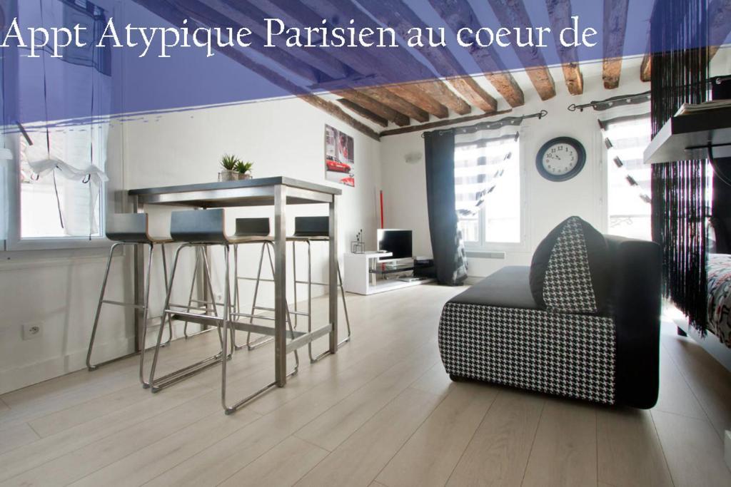 Appartement Cosy en plein Coeur de Quartier Montorgueil