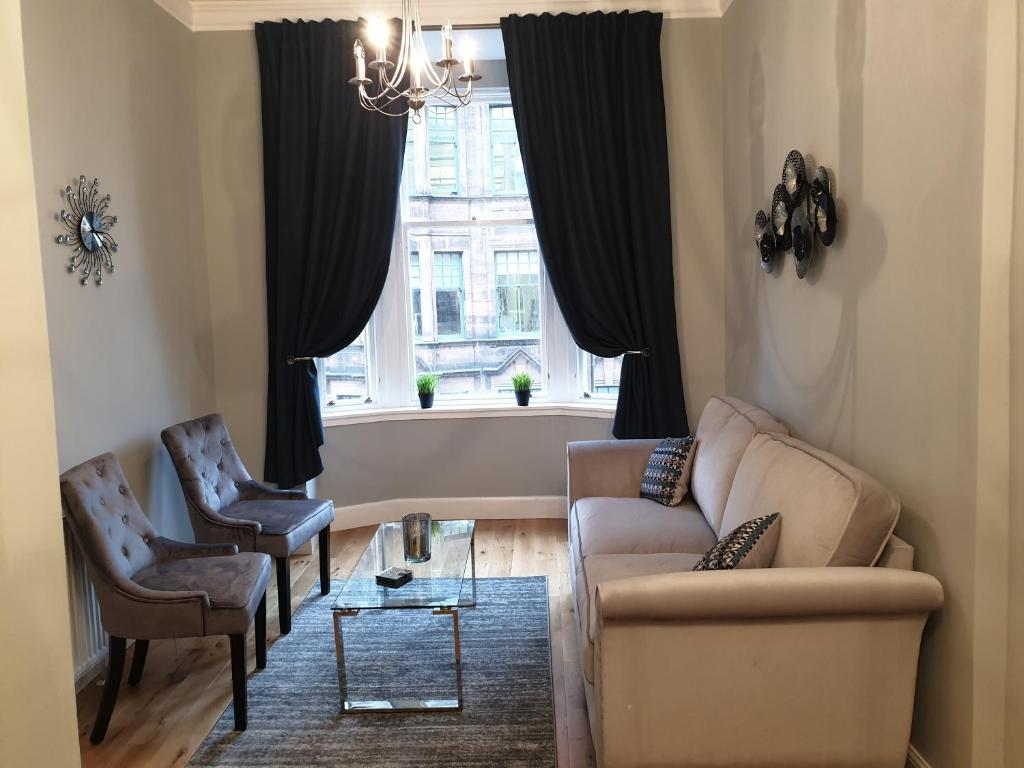 Modern Glasgow City Centre Apartment