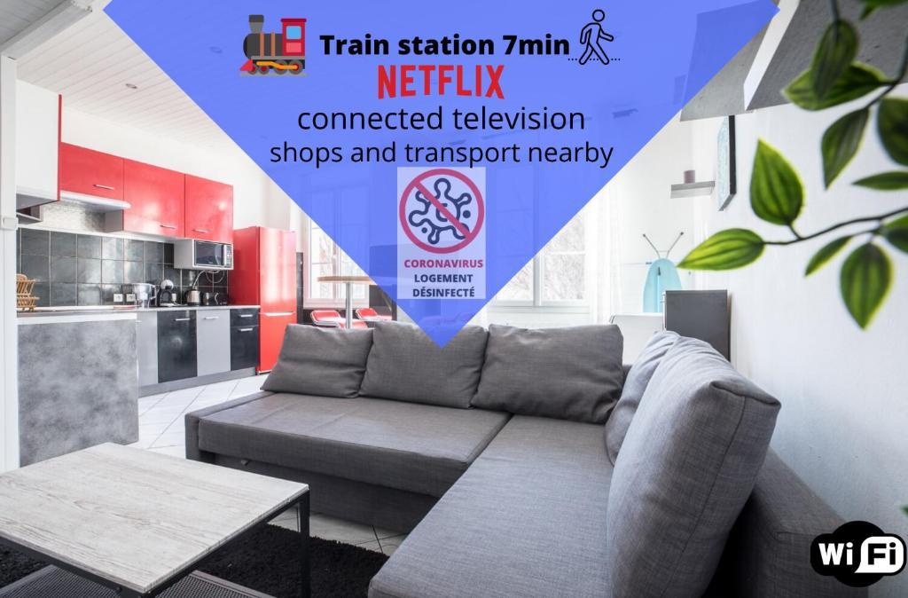 Ideally placed to visit Toulon + Bright flat - Idéalement placé pour visiter Toulon + Lumineux