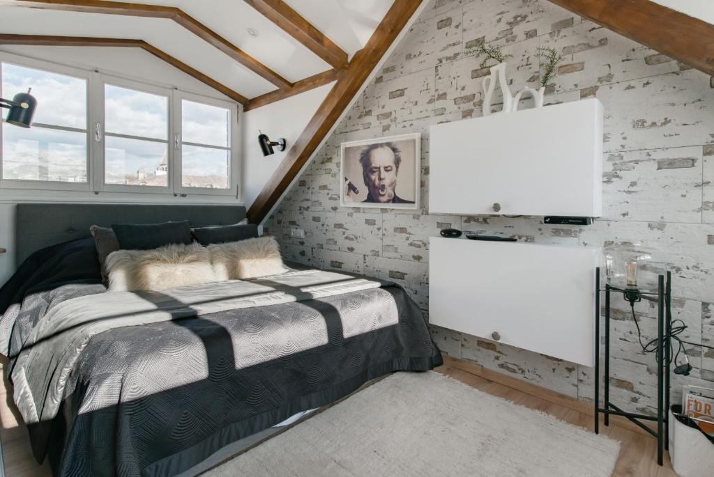 LUXURY CASTLE NO1 Loft Apartment with a Sauna