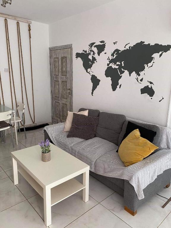 White dream apartment