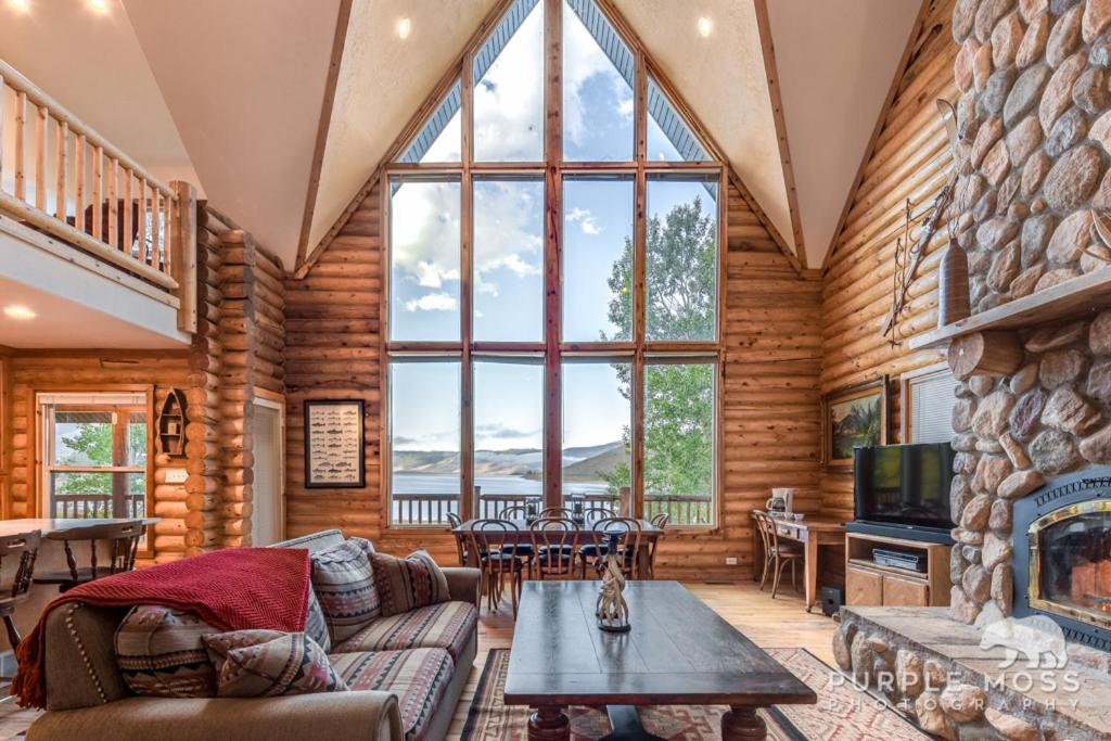 Scofield Lakefront Cabin with private dock