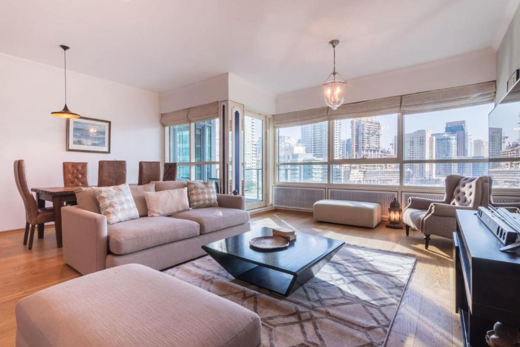 GuestReady - Luxury Apartment with Panoramic-View of Dubai Marina