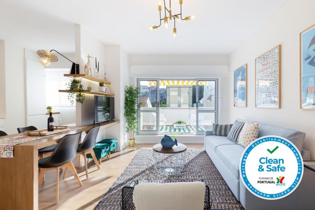 Upscale Flats w Garage & Terrace by Host Wise