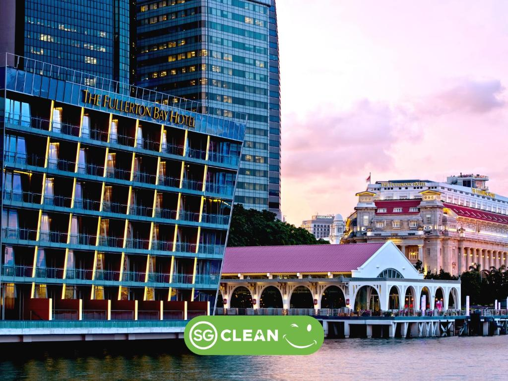 The Fullerton Bay Hotel Singapore (SG Clean, Staycation Approved)
