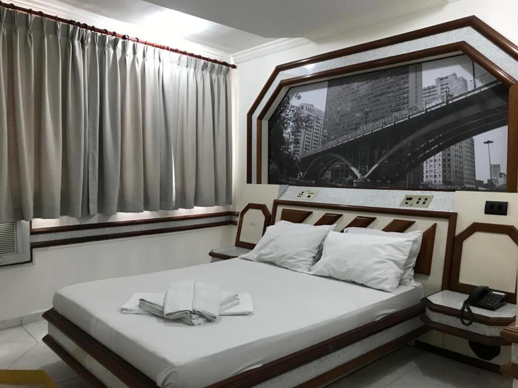 Paissandú Palace Hotel - Estacionamento privativo gratuito