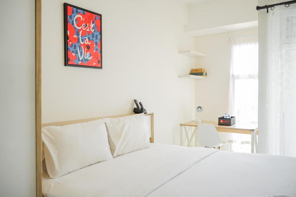 Cozy and Simple Studio Apartment at Akasa Pure Living BSD By Travelio