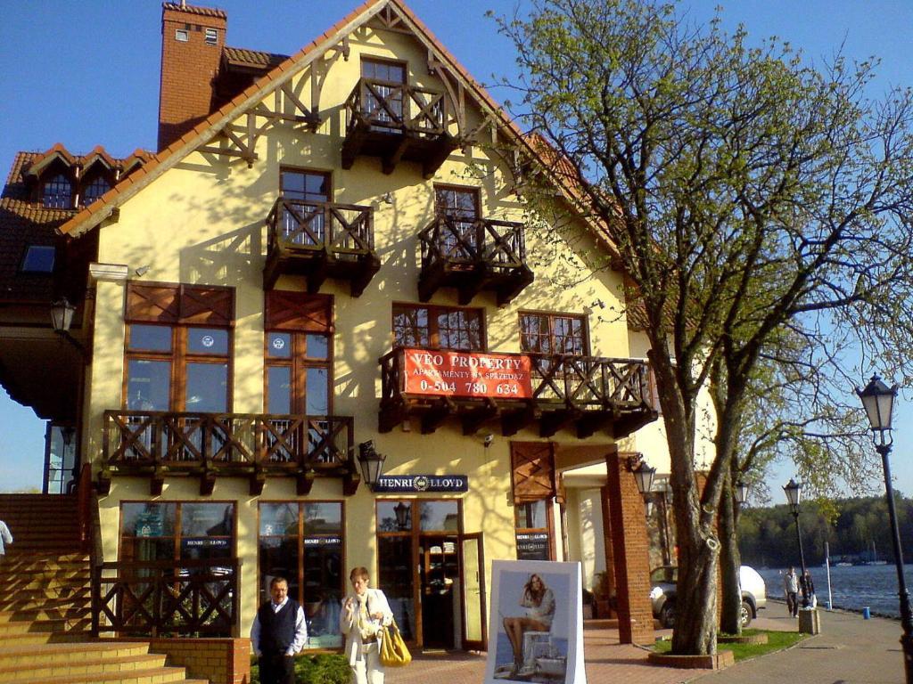 noclegi Mikołajki Apartament Sunrise