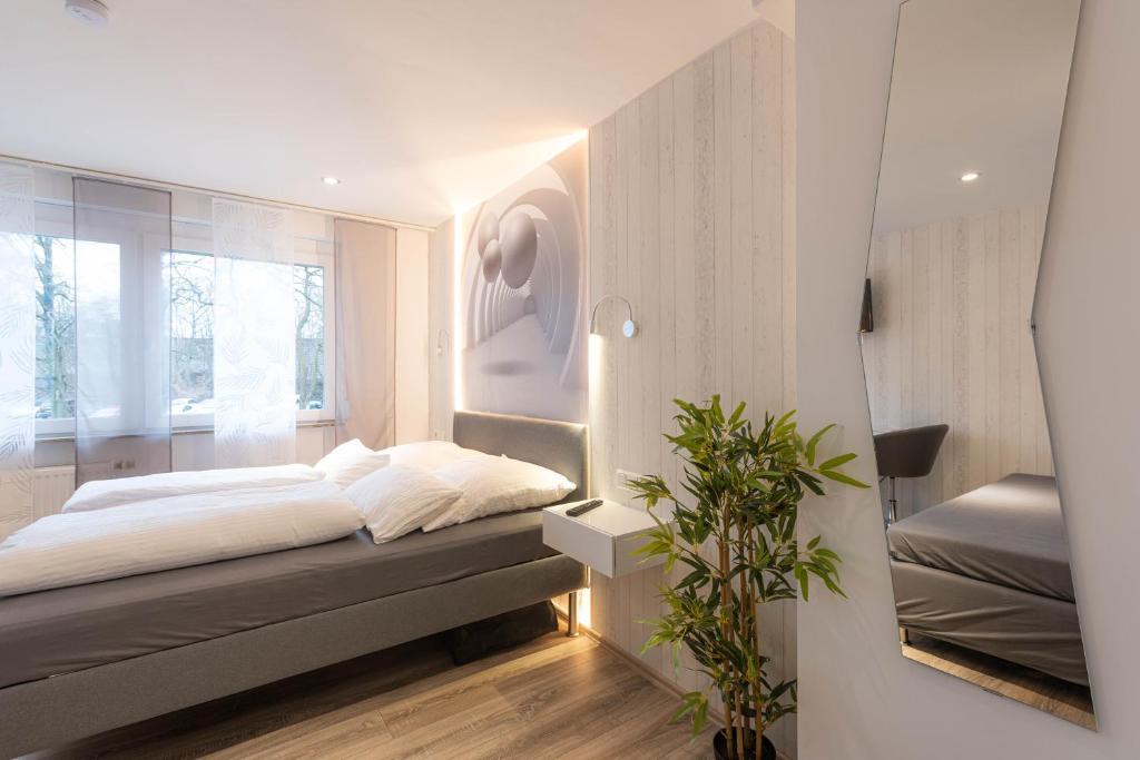 Messe-Hotelzimmer-Einzimmerappartement