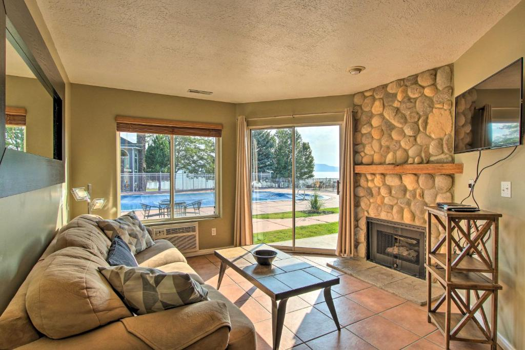 Garden City Condo with Pool Access by Bear Lake!