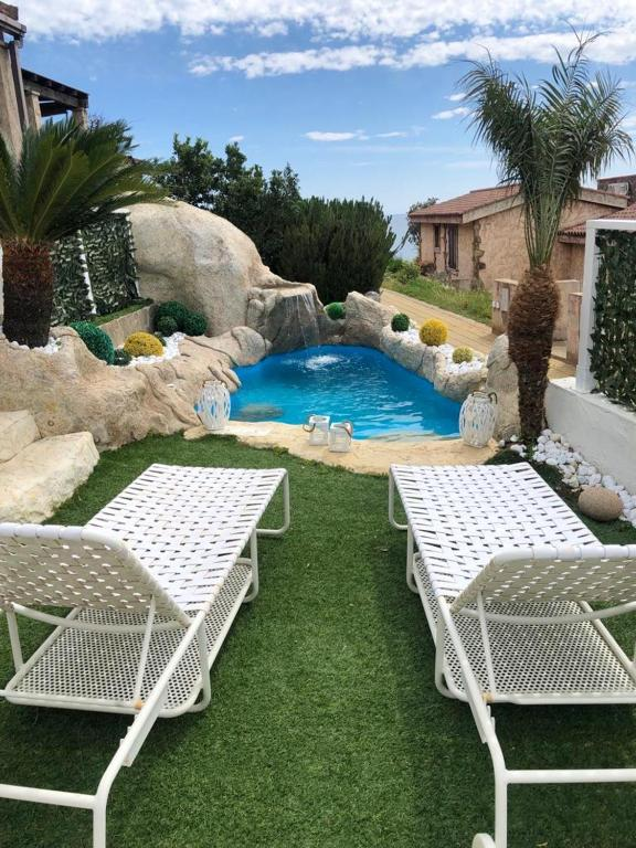 Villa with 2 bedrooms in Villaputzu with wonderful sea view private pool enclosed garden 500 m from the beach image2