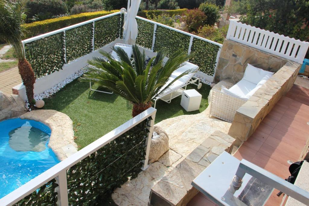 Villa with 2 bedrooms in Villaputzu with wonderful sea view private pool enclosed garden 500 m from the beach image3