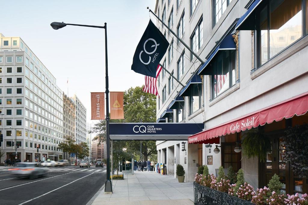 Club Quarters Hotel in Washington DC
