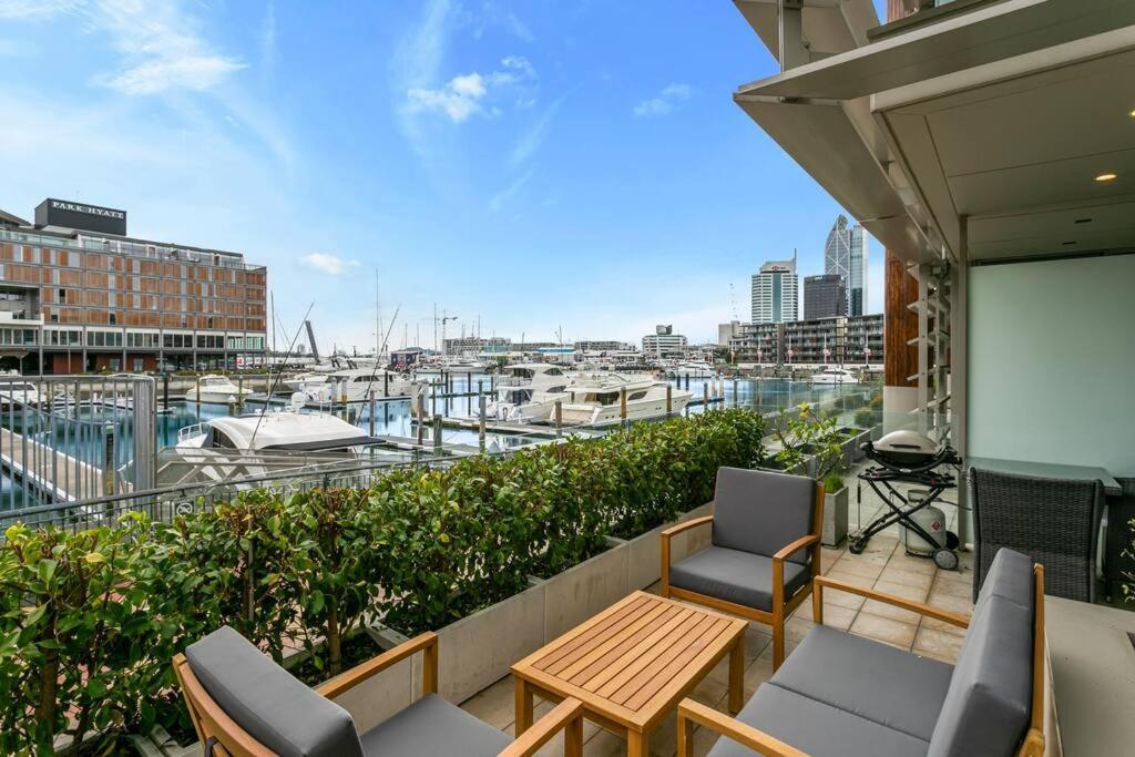 Elegant & sunny living with stunning marina views