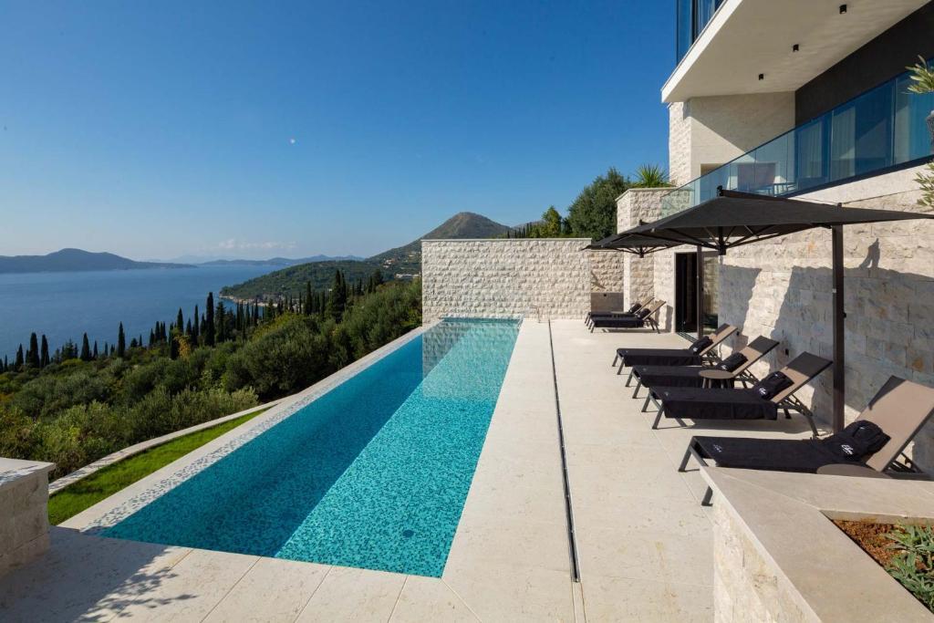 Villa Orasac Waterfront 1 A Stunning Contemporary 5 Bedroom Villa Magnificent Sea Views