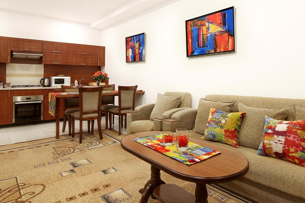 Apartments in Homey Residence