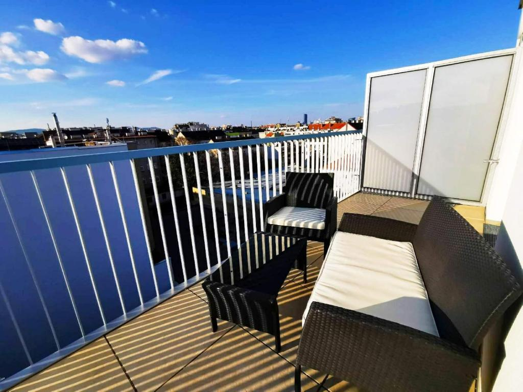 Rooftop Apartment Vienna City Center - free parking!