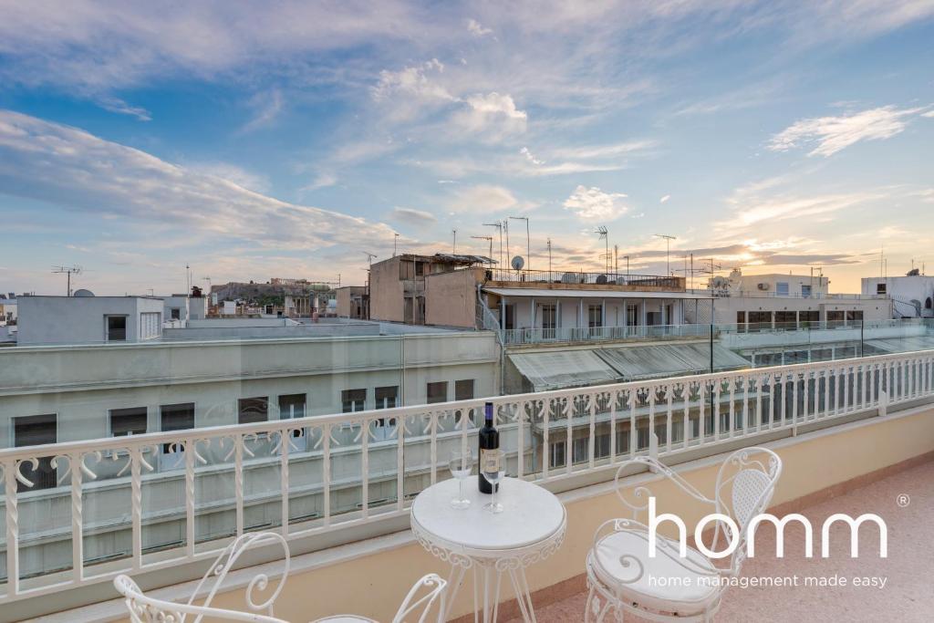 The Balcony homm® Studio I in Sofokleous street
