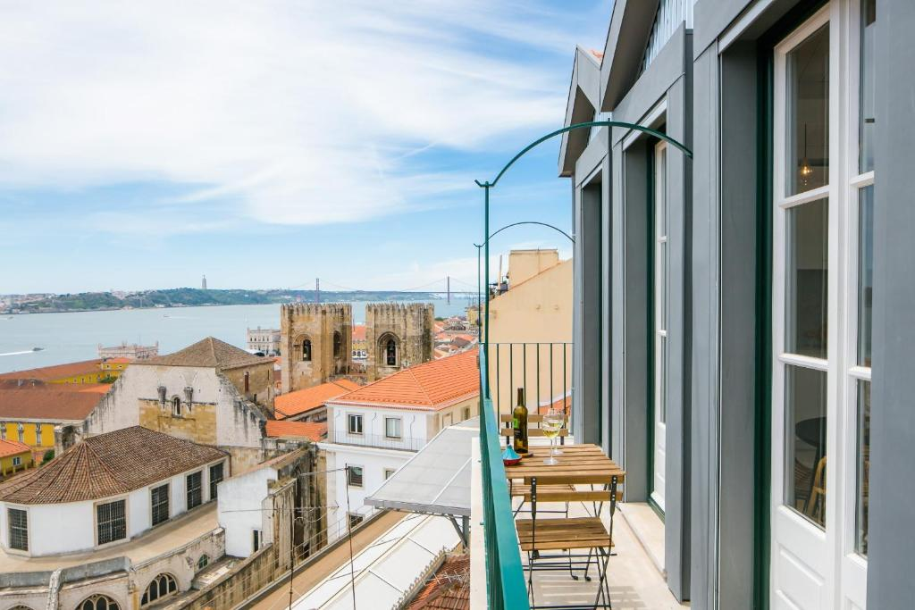 Alfama Terrace River View 12 by Lisbonne Collection