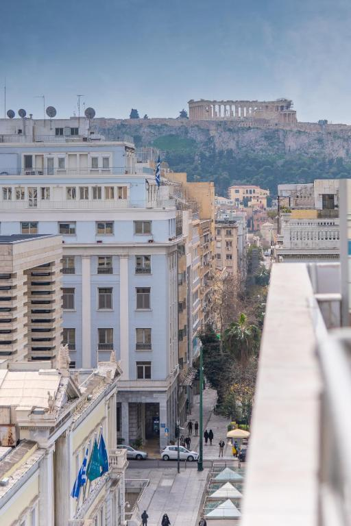 Rooftop apartment in the center of Athens