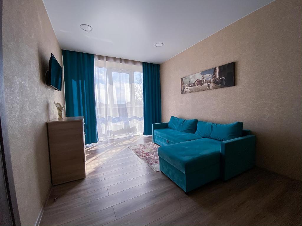 Двухкомнатные апартаменты на берегу моря