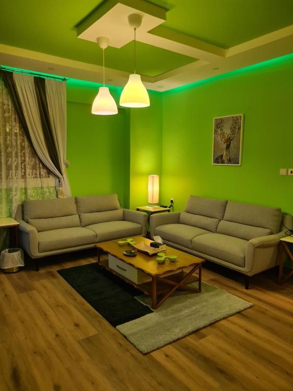 شقة النخبة Green Elite Apartment,umluj