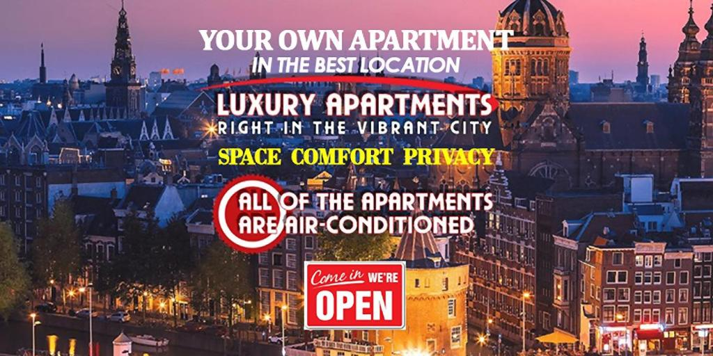The Hotel Apartments in the Center of Amsterdam
