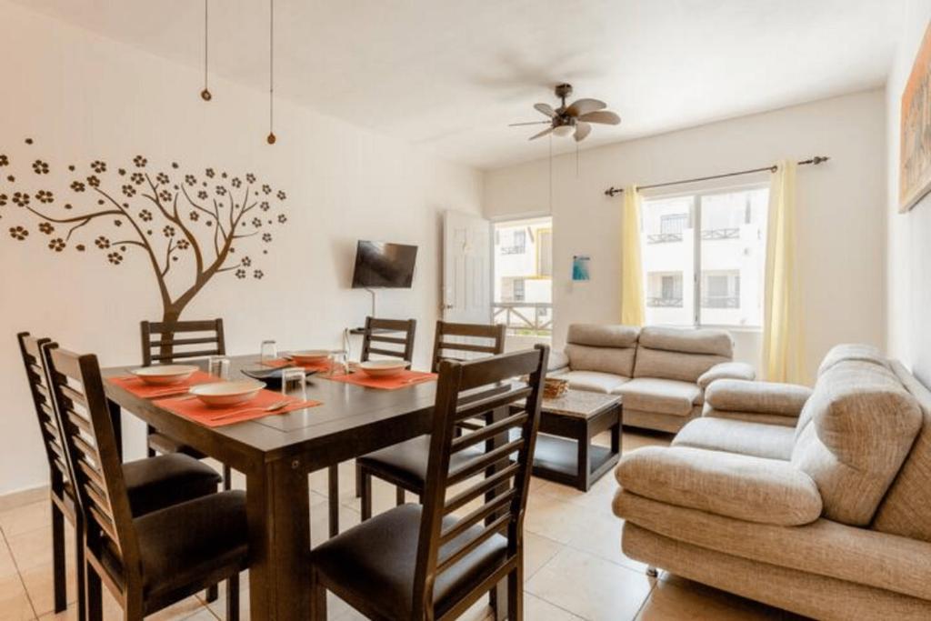 Apartamento Rocar en Real Ibiza 6 Personas, 5 Camas, Piscina cerca de la Playa
