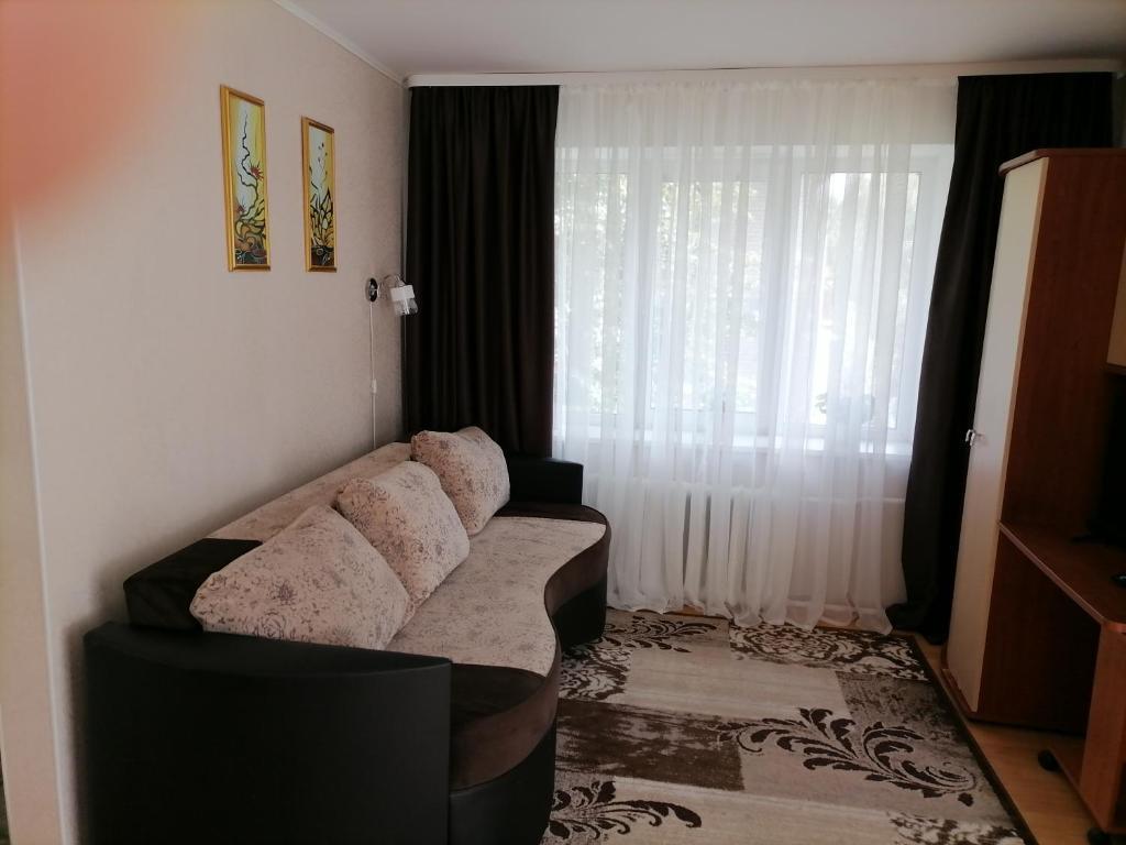 Уютная однокомнатная квартира на Набережной напротив Кремля