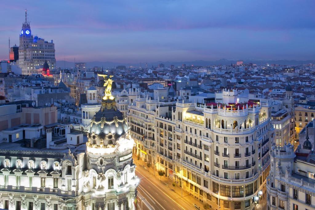 ático Madrid A Michelin Guide Restaurant