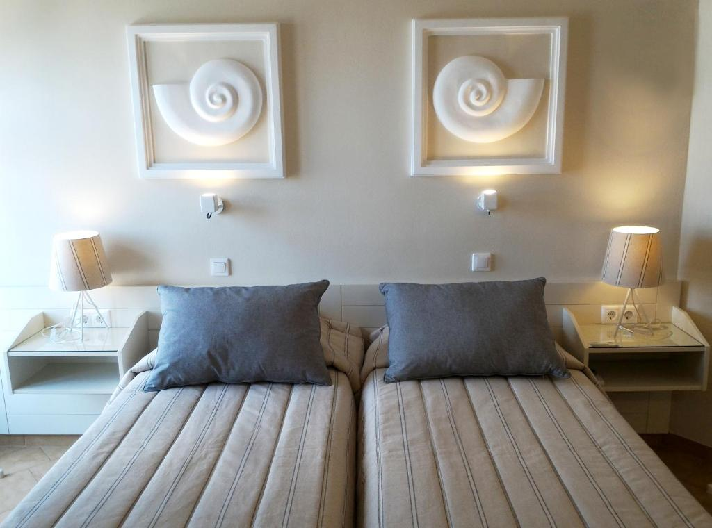 Double or Twin Room with Sea View Nautilus Nontas Hotel