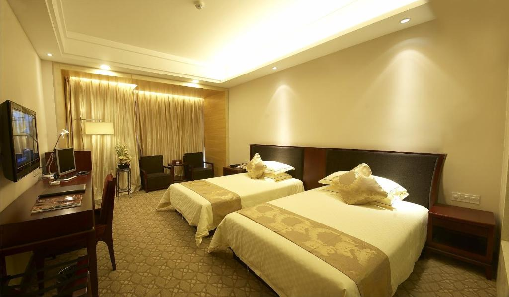Executive Twin Room Yongjia Renren International Hotel