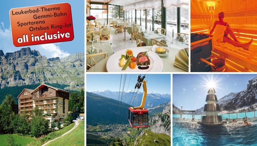 Hotel Alfa Superieur - Leukerbad-Therme